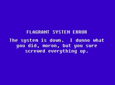 System Error!